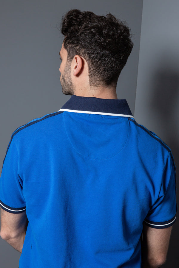 Mens Tape Polo Shirt