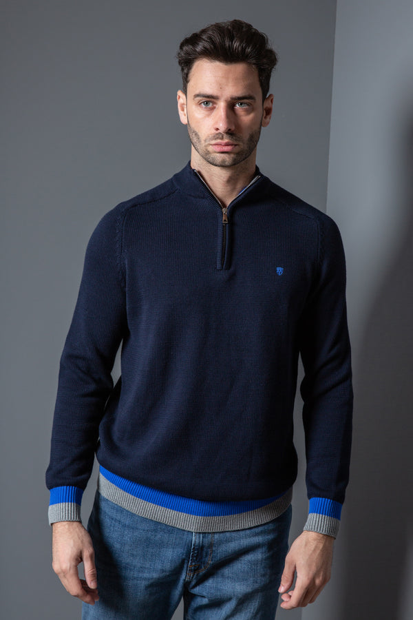Mens Funnel Neck Jumper