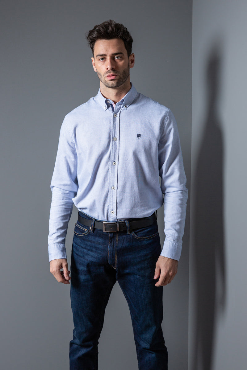 Mens Micro Square Jacquard Shirt
