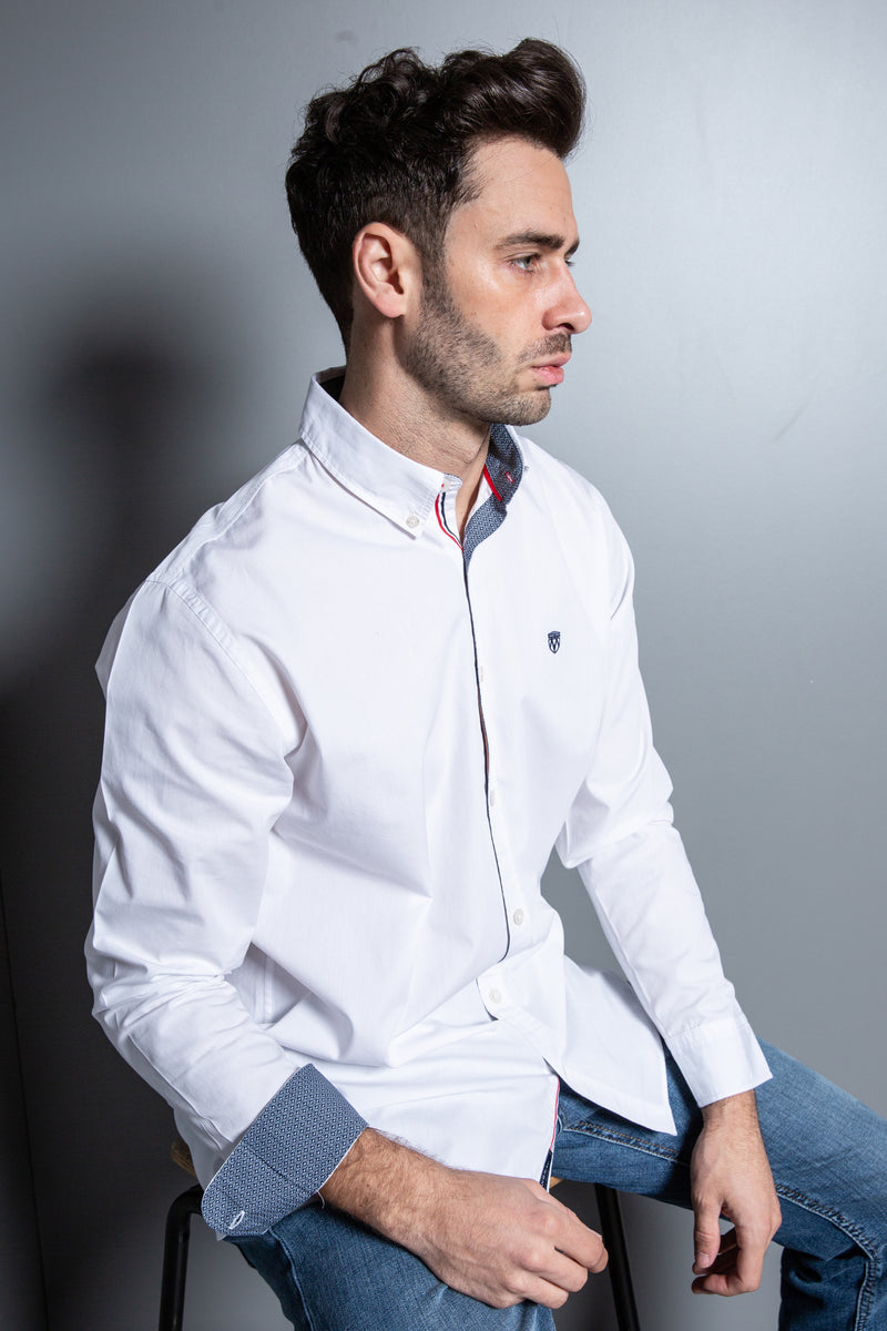 Mens Button Down Classic Shirt