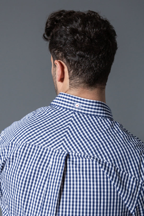 Mens Classic Gingham Check Shirt
