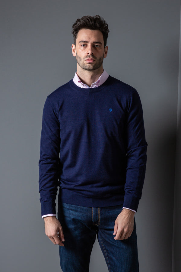 Mens Classic Crew Neck Jumper
