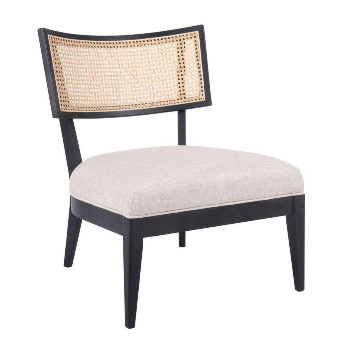 Darcy Rattan Occasional Chair - Natural Armchair Cafe Lighting