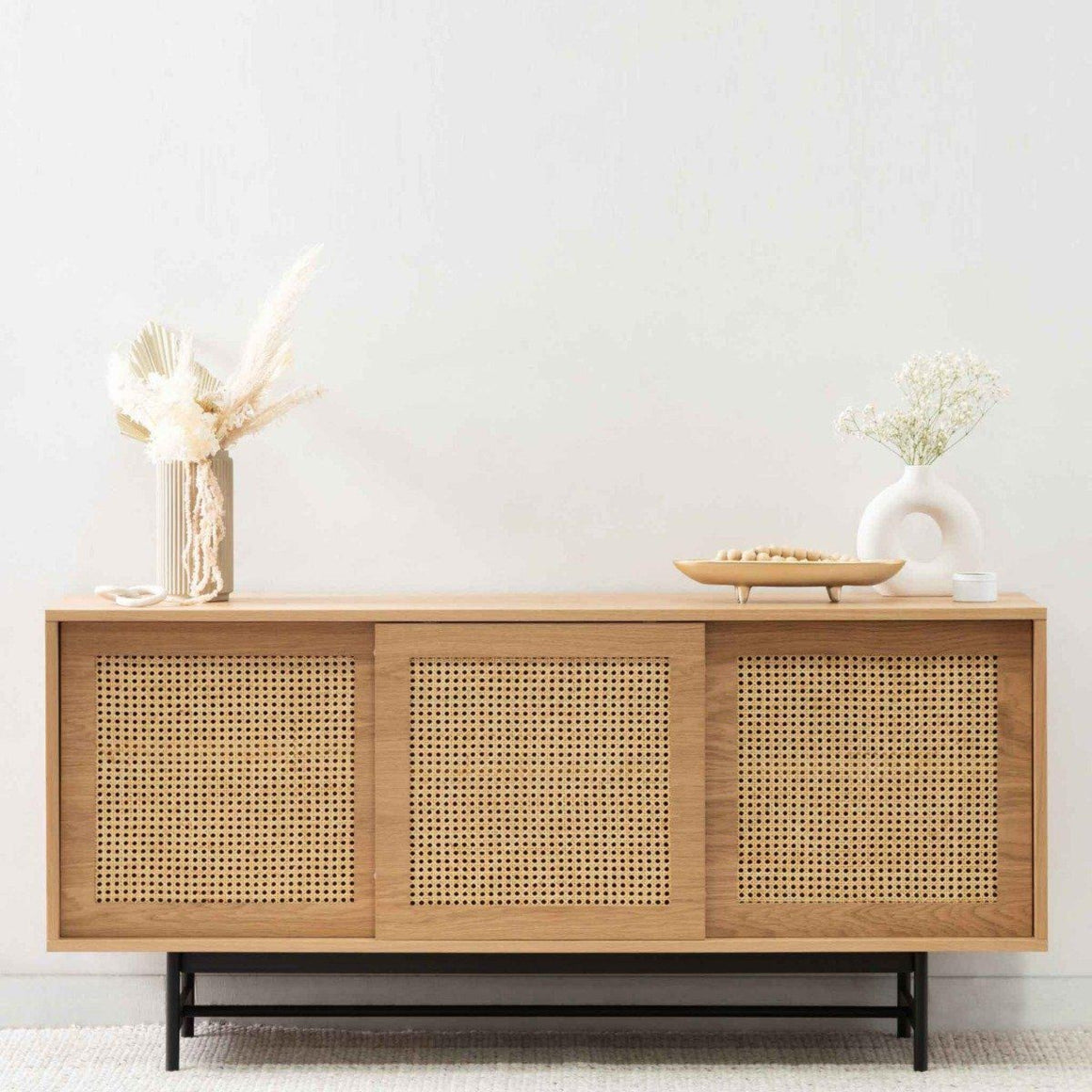 Debora Rattan Sideboard - Natural SAVA & CO