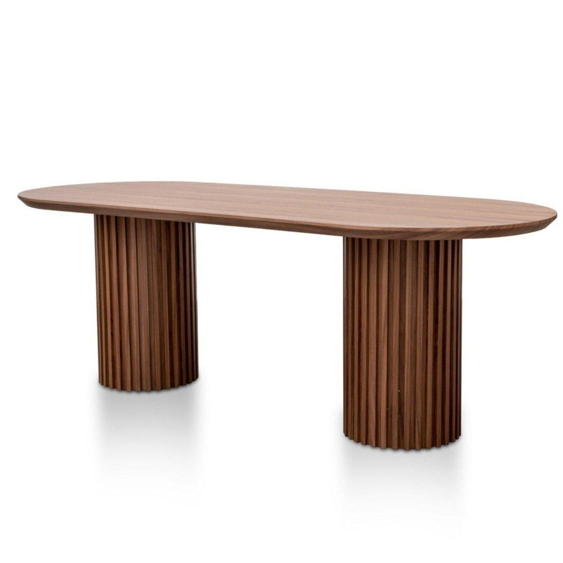 Marty Walnut Dining Table Dining Table Calibre Furniture