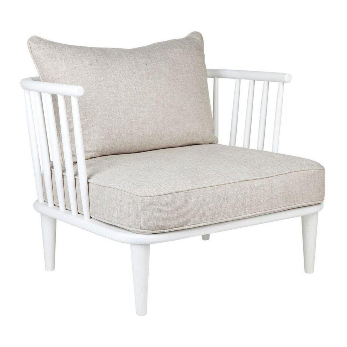 Pavilion White Occasional Chair Armchair Cafe Lighting