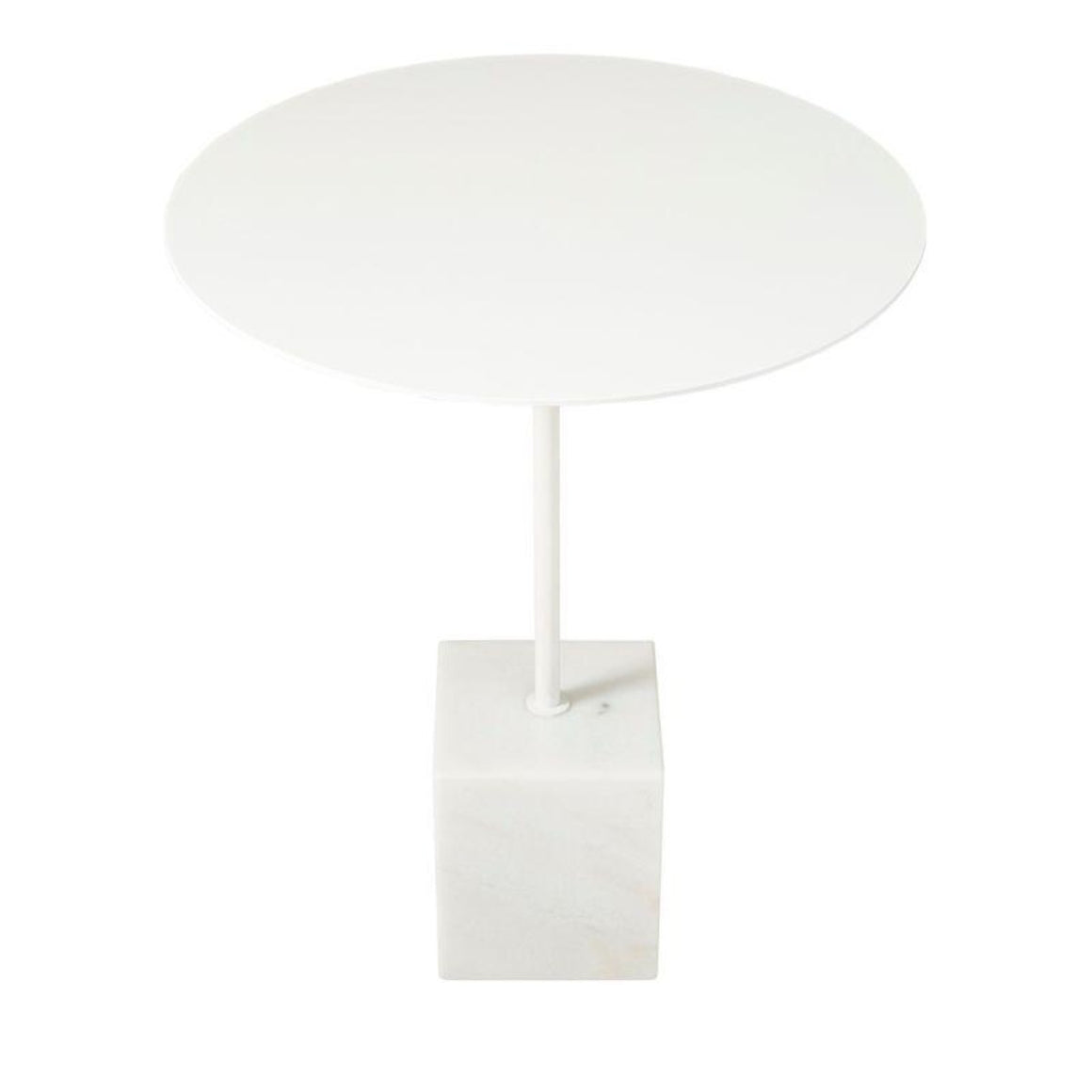 Suri White Side Table Side Table Horgans
