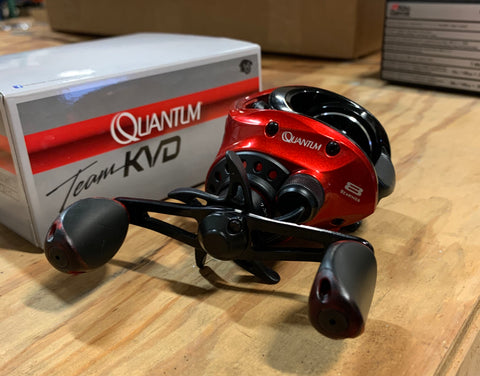 (FLASH SALE) Quantum KVD 101H Baitcaster Reel