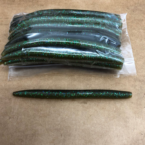 30ct STICK WORM Bulk Bag (Bluegill)