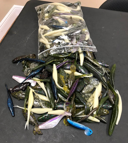5LB Swimbait Bait Bulk Box (Fisherman's Candy Store Special)