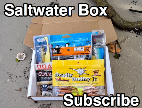 MONTHLY INSHORE SALTWATER SUBSCRIPTION BOX