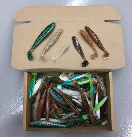 2.5LB Custom Bulk Box: Swimbaits