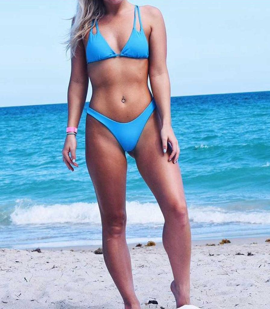 Baltic Top Sea Blue - Trukini Swimwear @trukiniswim trukini.com