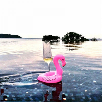 Flamingo Floating Drink Holder (Set of two) - Trukini Swimwear @trukiniswim trukini.com