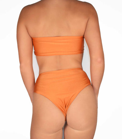 Koro Bottoms Burnt Orange - Trukini Swimwear @trukiniswim trukini.com