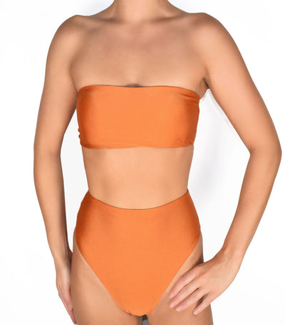 Koro Top Burnt Orange - Trukini Swimwear @trukiniswim trukini.com