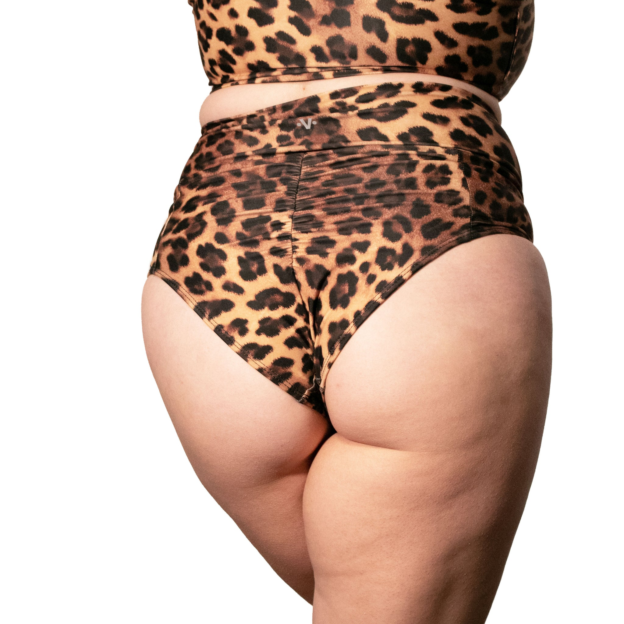 Leopard High Waisted Short