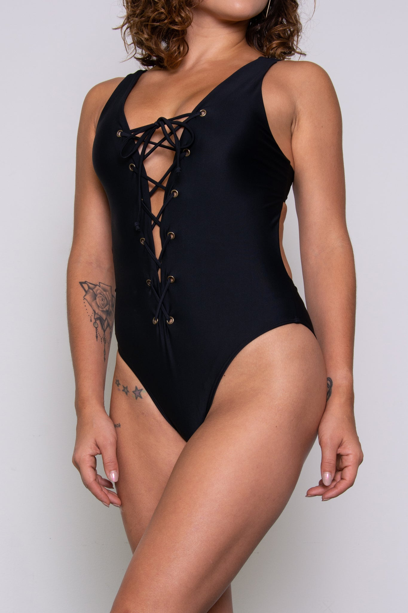 Claudia Renee Bodysuit - Black