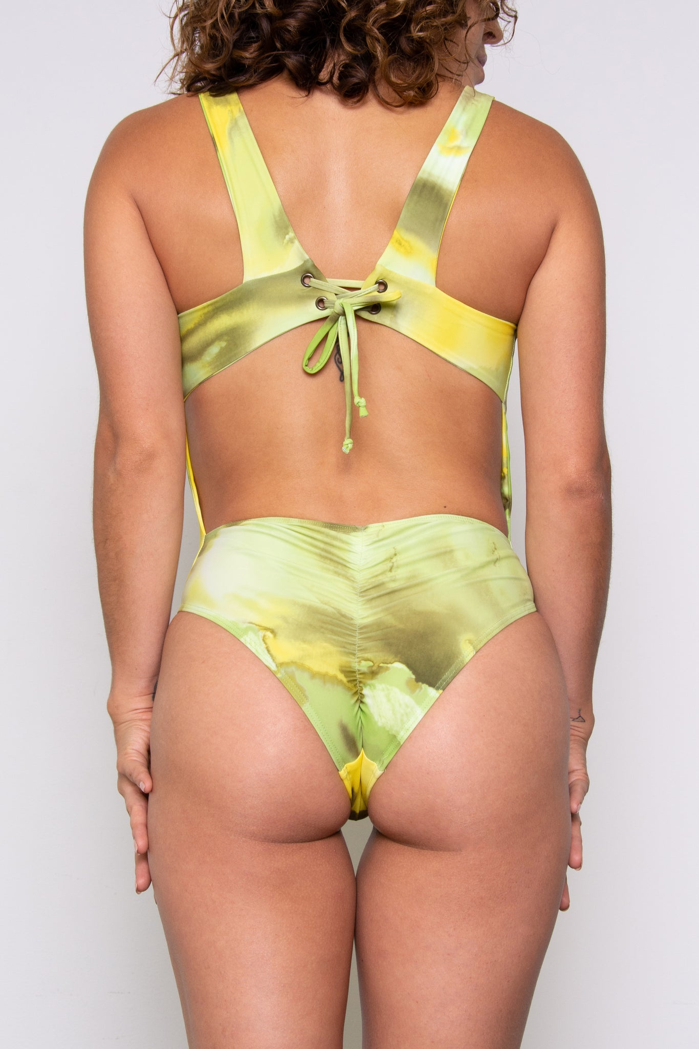 Claudia Renee Bodysuit - Key Lime Pie