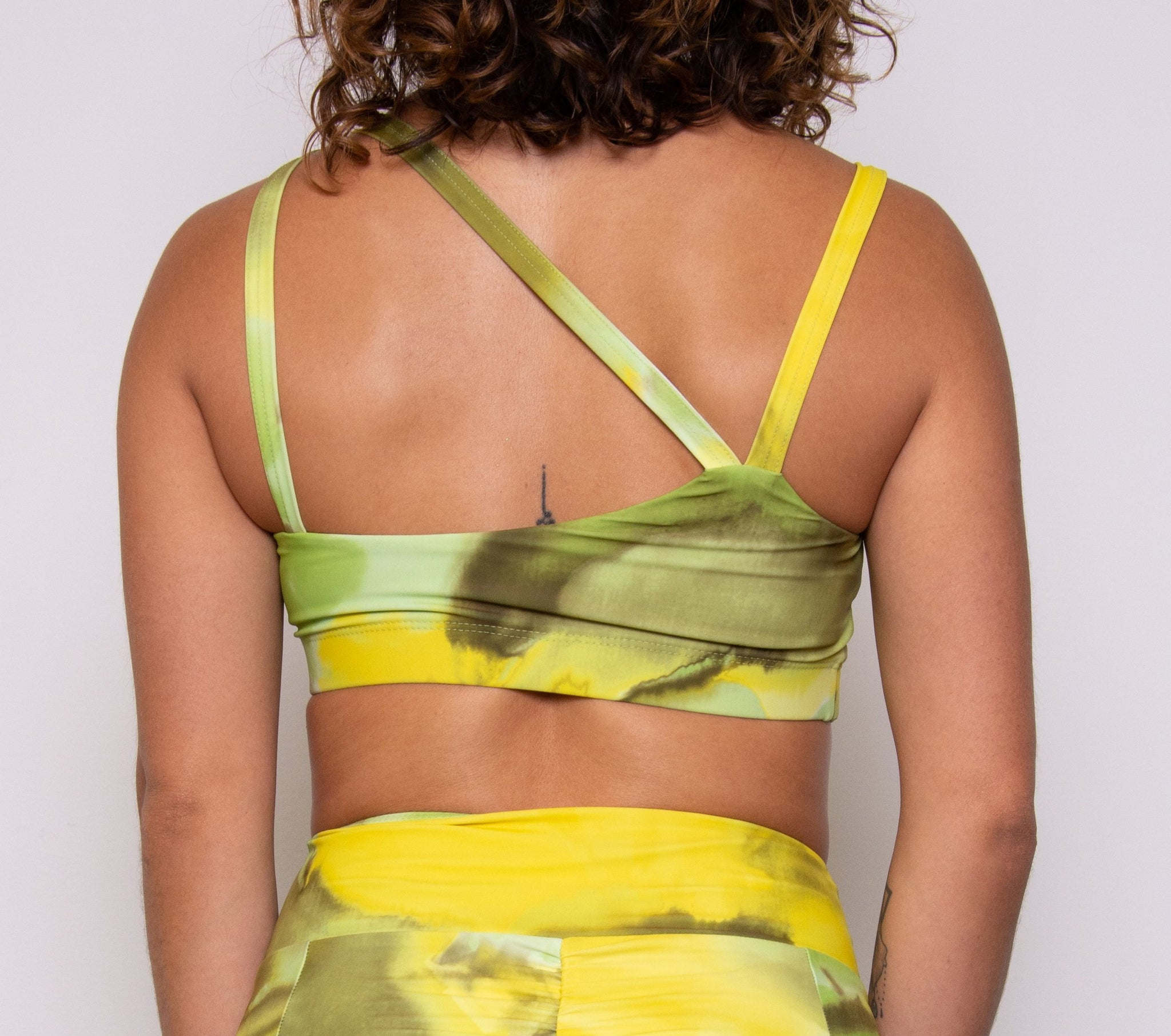 Criss Cross Bra - Key Lime Pie