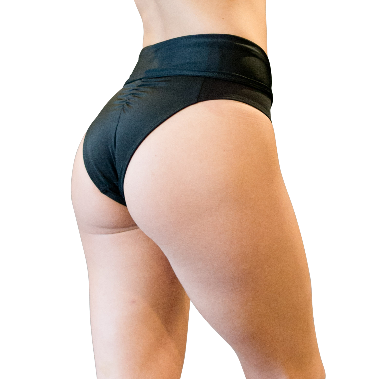 Pole fitness high waist bottom