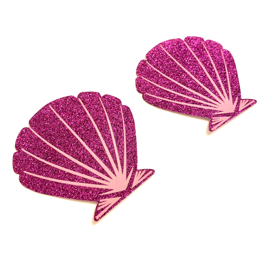 Purple Mermaid Glitter Pasties