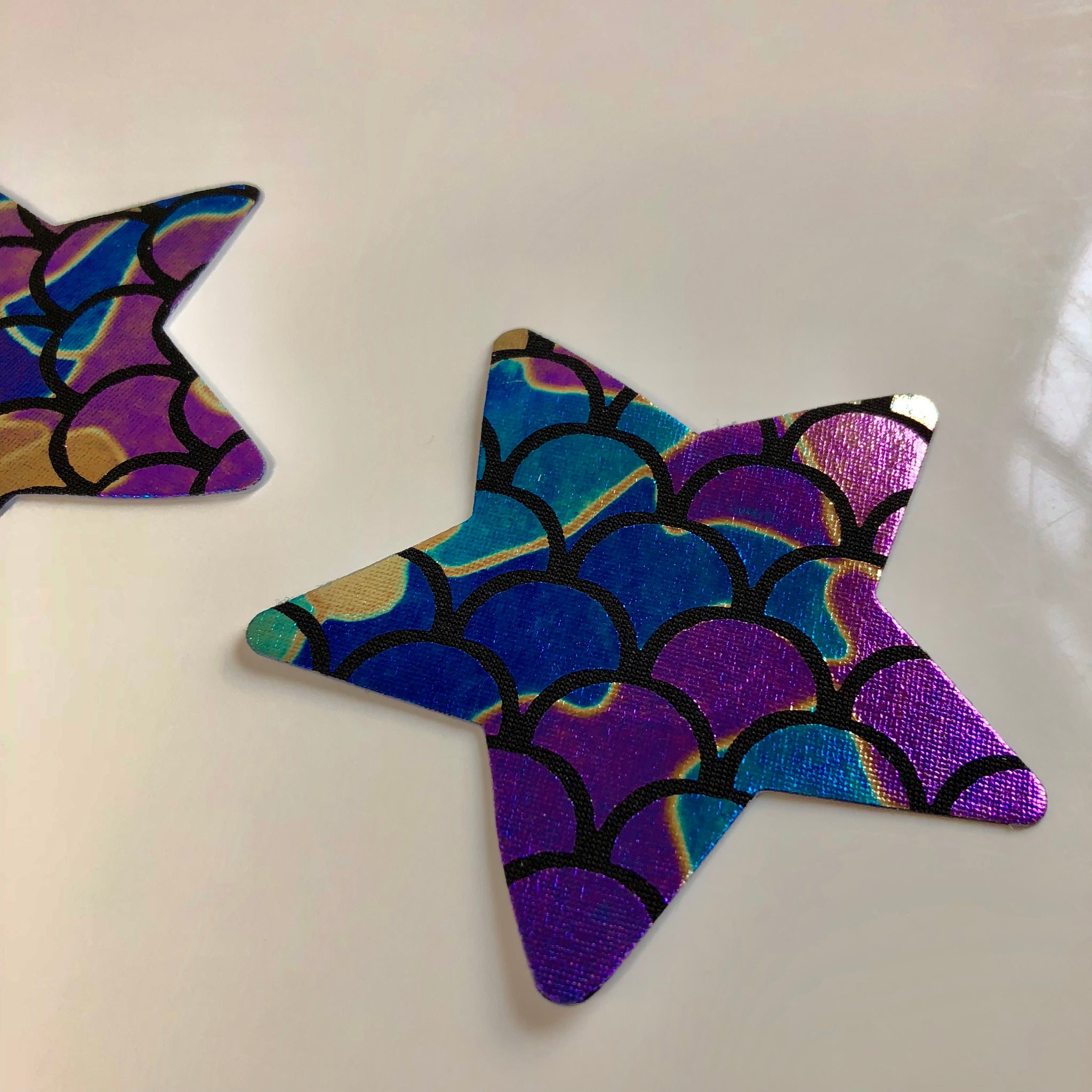 Mermaid Star Shiny Pasties