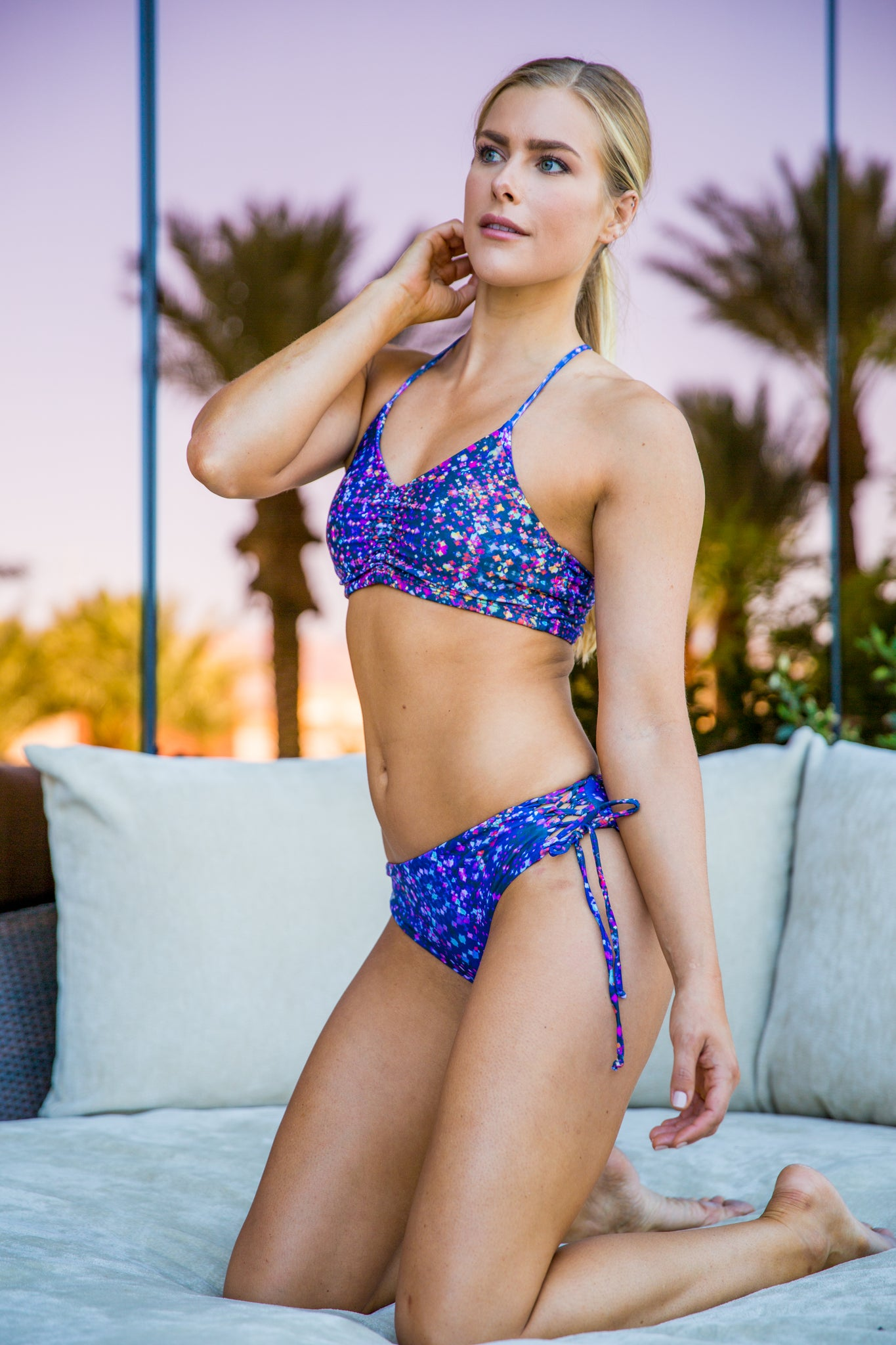 Constellation Print Hermosa Bottoms