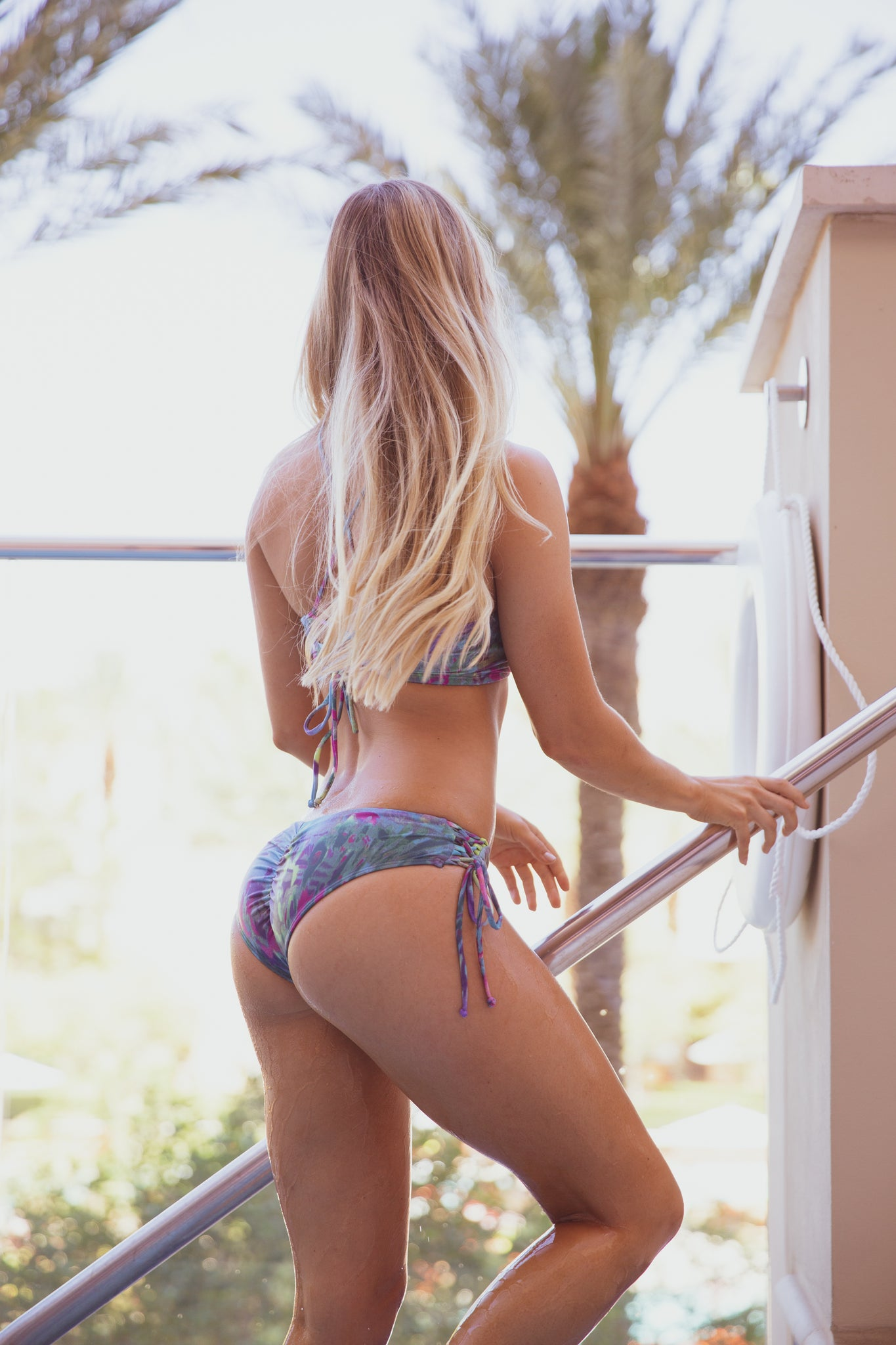 Jungle Print Hermosa Bottoms