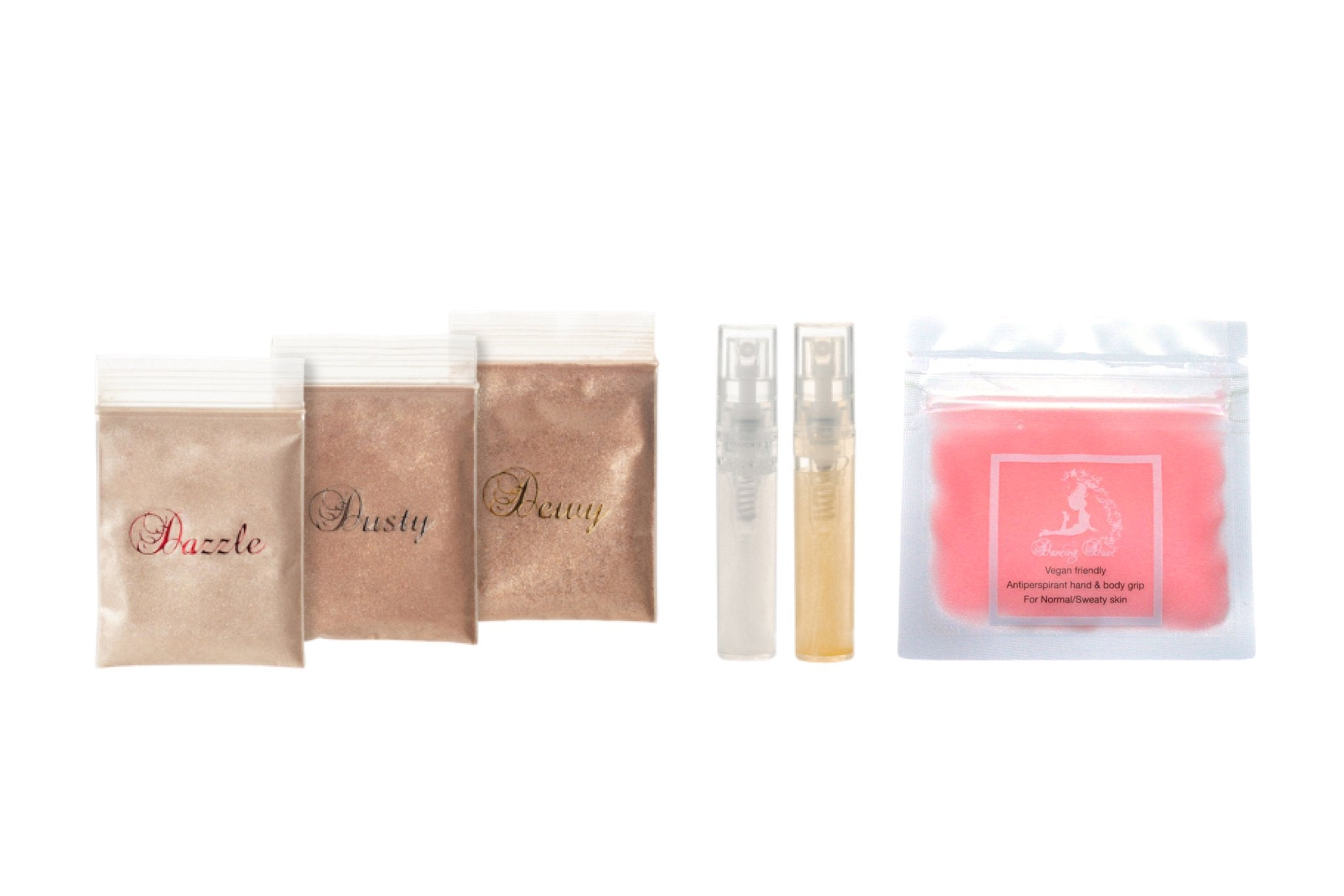 Dancing Dust Body Shimmer Sample Tester Pack