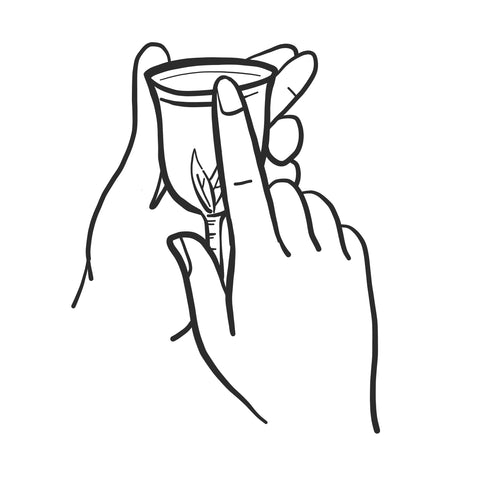Menstrual Cup Folds