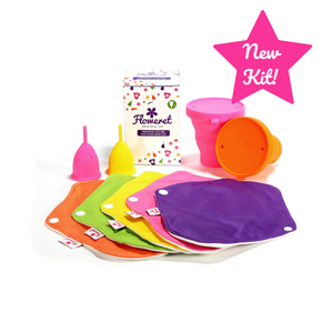 NEW! Floweret Double Kit - Floweret Menstrual Cup