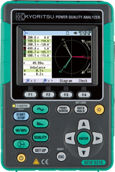 Kewtech / Kyoritsu KEW6315 Power Quality Analyzer