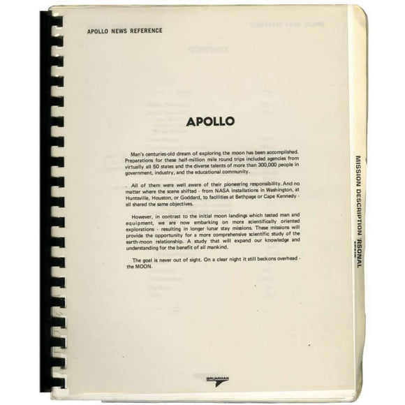 Documento histórico sobre Apollo 11 (1971)