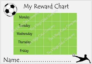football reward chart printable