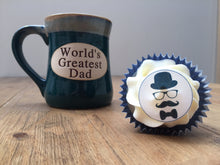 Edible Gift for Mans Birthday | Moustache Cake Topper