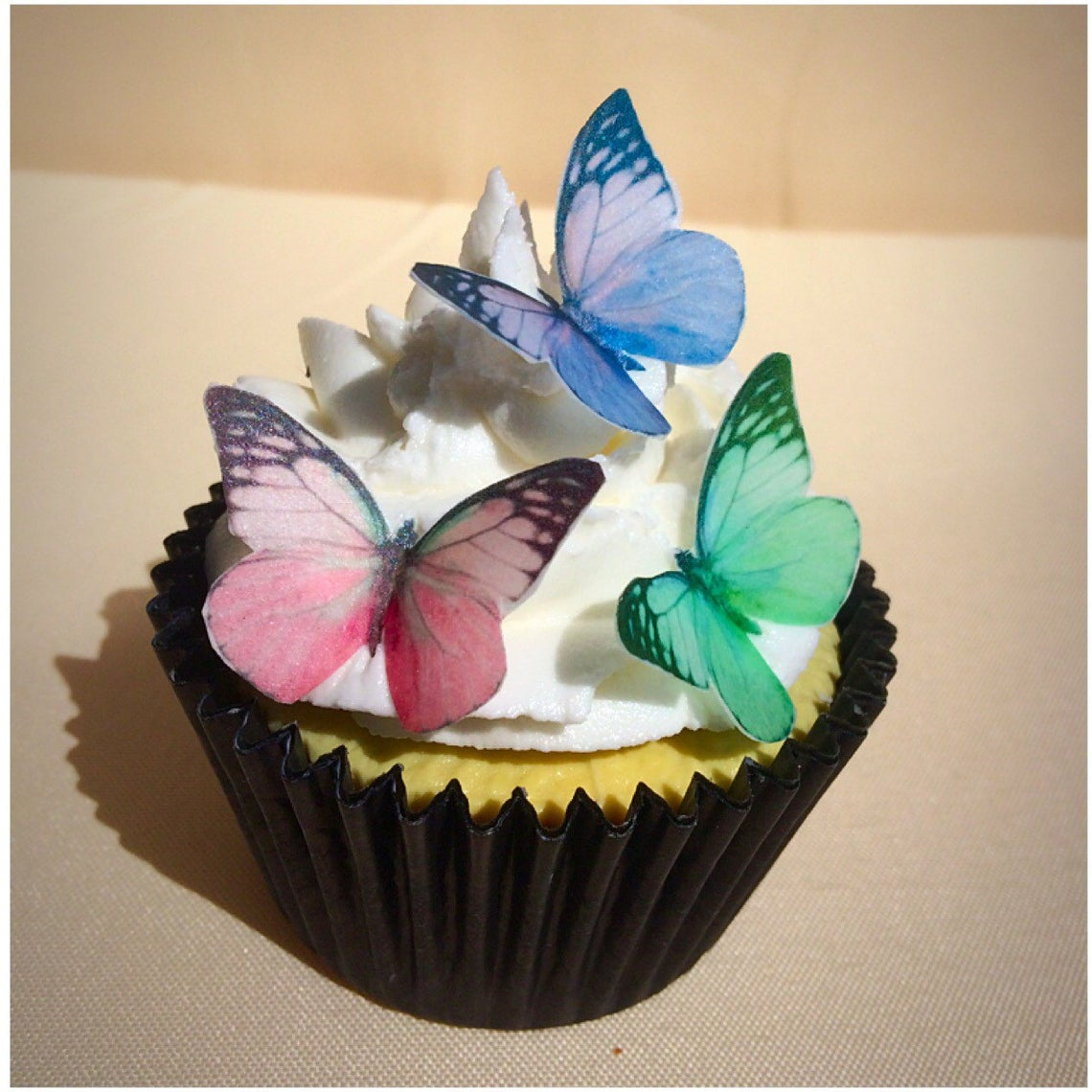 Edible Pastel Butterflies