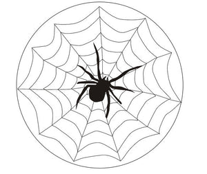 spiders web cake topper
