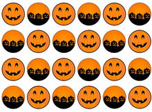 Pumpkins Edible Cupcake Toppers | Set of 24