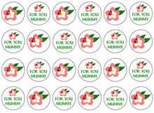 For You Mummy Cupcake Toppers | Set of 24