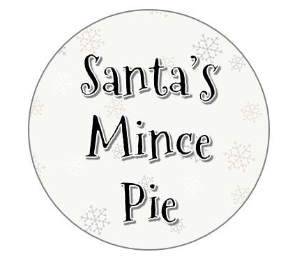 christmas eve santas mince pie topper