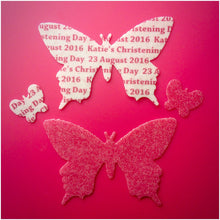 Edible Wafer Butterflies With Custom Text