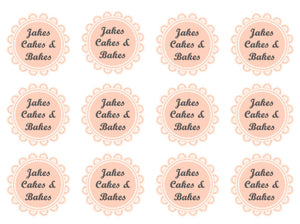 Afternoon Tea | Cupcake Toppers