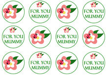 Mummy Cupcake Toppers | Gift For Mother's Day