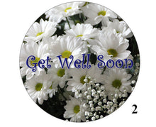 Get well soon cake topper | Large edible cake print