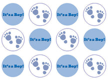 It's A Boy Cupcake Toppers | the village cake company