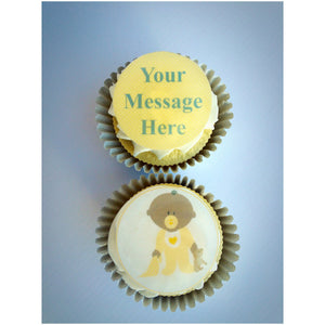 New Baby Cake Toppers UK | Custom Cupcake Topper | The Village Cake Company