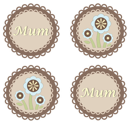 Mother's Day Doily Cupcake Toppers | Edible Gift For Mum