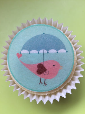 Little Bird Edible Toppers