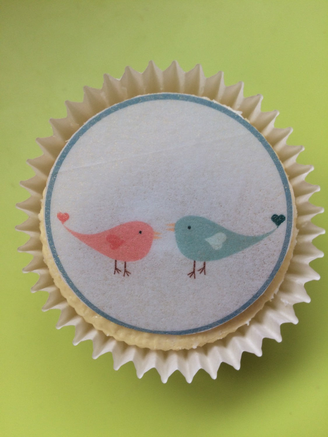 Easter Cupcake Toppers | Pastel Colours